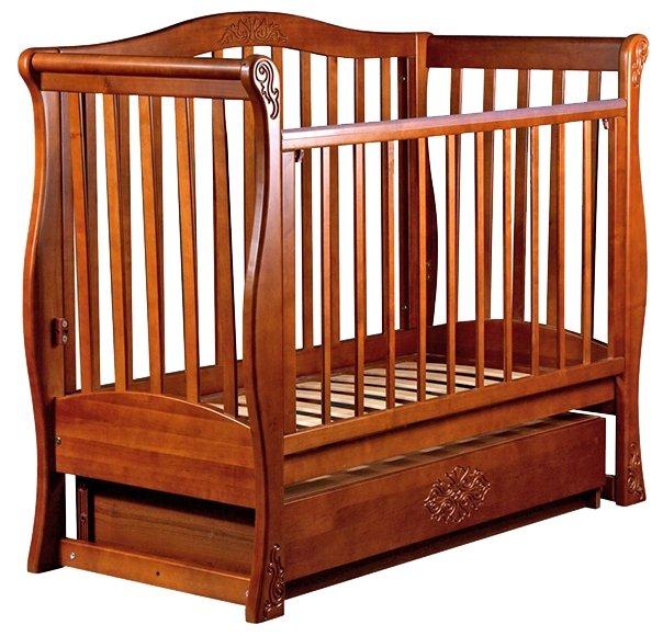 Кроватка Ласка-М Вива Luxury (маятник поперечный)