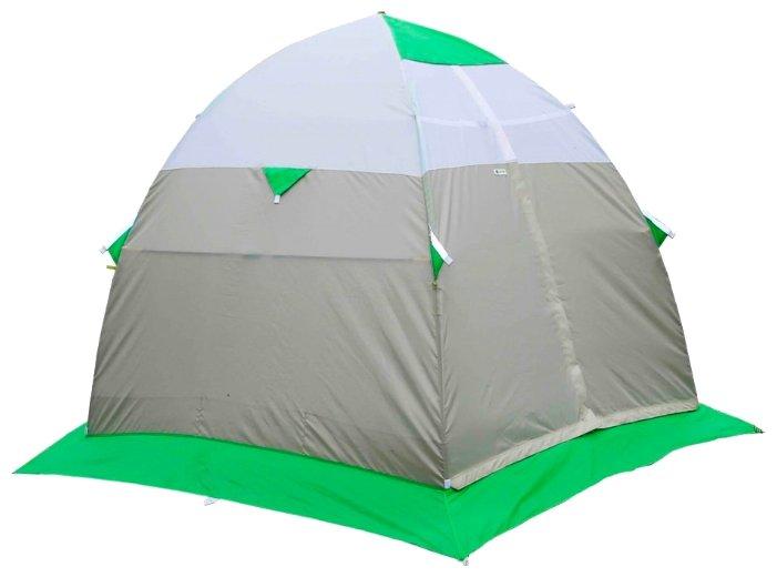 Лотос 3 Саммер - летняя туристическая палатка-автомат с очень богатым функциональным оснащением.