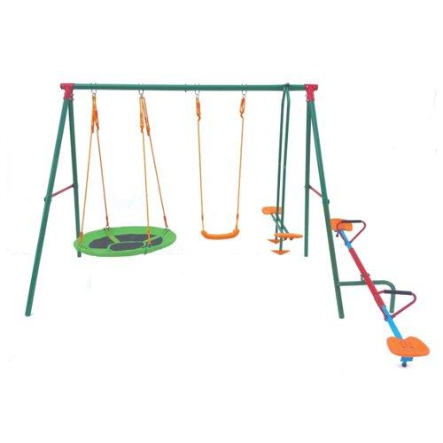 Купить DFC Многофунциональный детский комплекс (MSW-01) зеленый, Качели