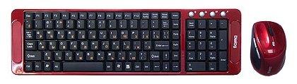 Dialog Клавиатура и мышь Dialog KMRLK-0318U Red USB