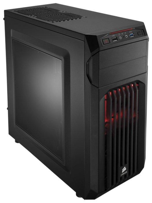 Corsair Компьютерный корпус Corsair Carbide Series SPEC-01 Black/red