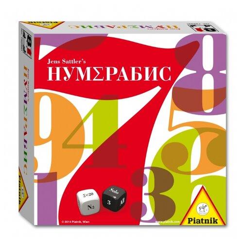 Настольная игра Piatnik Нумерабис настольная игра piatnik веселые попугаи