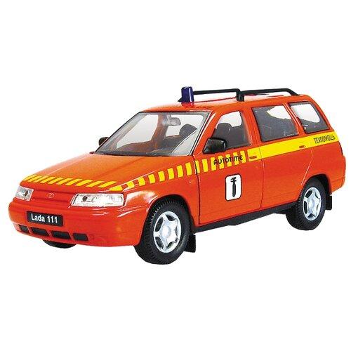 Легковой автомобиль Autogrand Lada 111 техпомощь (2676) 11.5 см оранжевый/желтый
