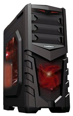 GameMax Компьютерный корпус GameMax G530 Black/red