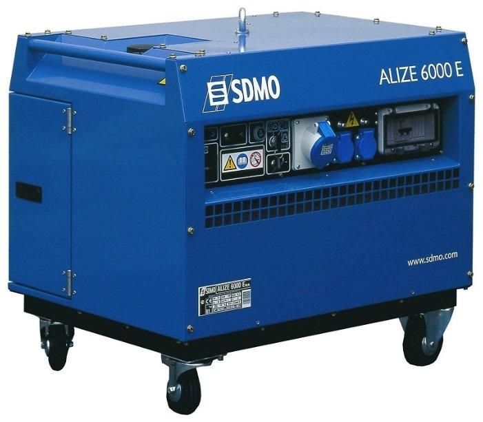 Бензиновая электростанция SDMO Alize 6000 E