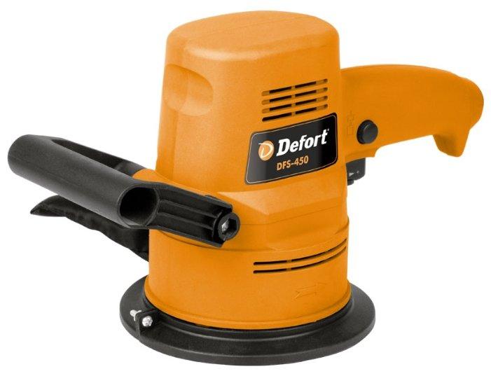 Эксцентриковая шлифмашина DeFort DFS-450