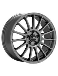 OZ Racing Superturismo LM 7,5x17 5/120 ET47 d79 (Matt Race Silver Black Lettering) - фото 1