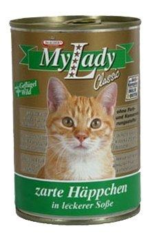 Корм для кошек Dr. Alder МОЯ ЛЕДИ КЛАССИК птица + дичь кусочки в желе Для домашних кошек
