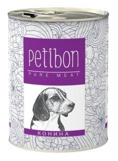 Корм для собак Petibon 100% meat Конина