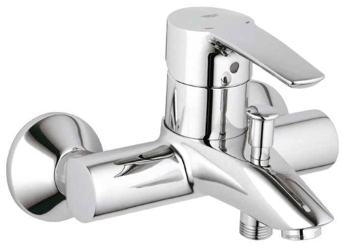 Однорычажный смеситель для ванны с душем Grohe Eurostyle 33591001