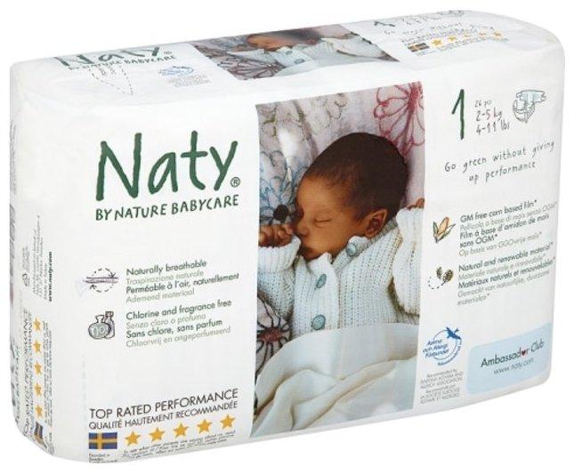 Naty подгузники 1 (2-5 кг) 26 шт.