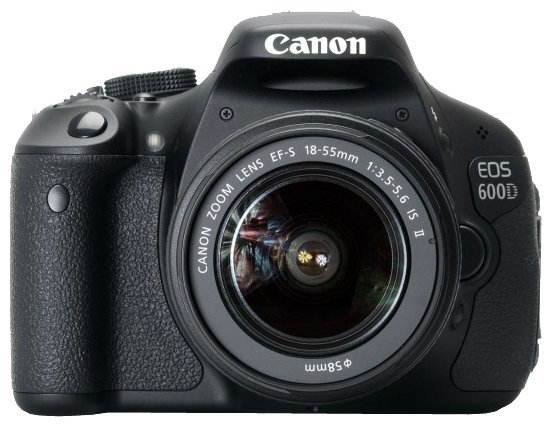 Canon Зеркальный фотоаппарат Canon EOS 600D Kit