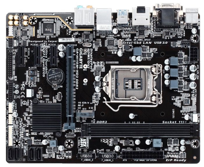 GIGABYTE GA-H110M-HD3 DDR3 (rev. 1.0)