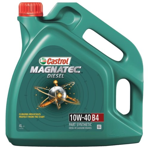 Моторное масло Castrol Magnatec Diesel 10W-40 B4 4 л