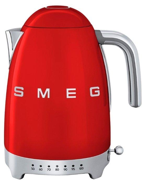 Купить Чайник smeg KLF04, красный по низкой цене с доставкой из Яндекс.Маркета (бывший Беру)