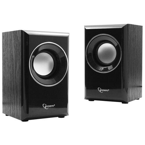 Компьютерная акустика Gembird SPK-204 черный колонка gembird spk 500 2 0 black