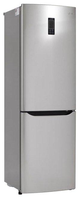 Холодильник LG GA-B409SAQL серебристый