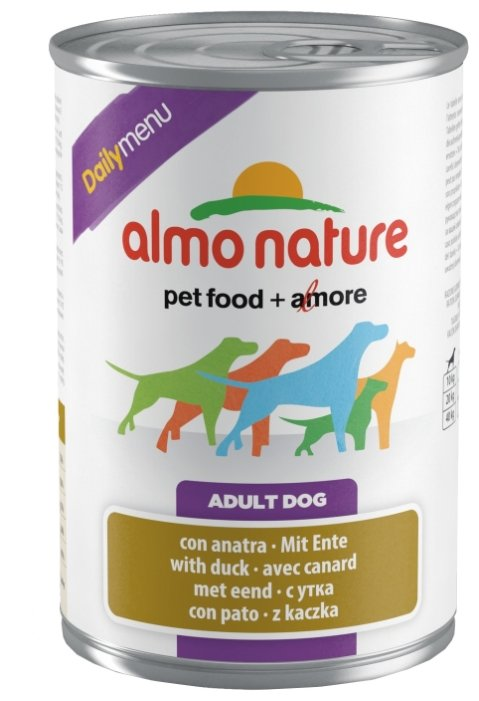 Корм для собак Almo Nature Daily Menu утка 400г