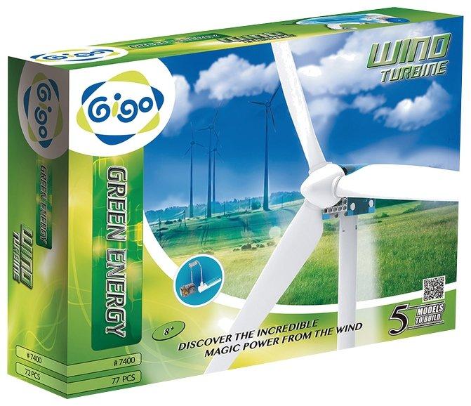 Конструктор электромеханический Gigo Энергия ветра / 7400
