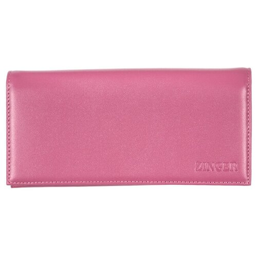 Портмоне из кожи Ладья фуксия, WN013-1 (P-01) Violet-bordo CLASSIC портмоне женское zinger sahara wn013 3 коричневое