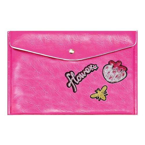 Купить Феникс+ Папка для документов Розовый 34.5х24 см (48877) розовый, Файлы и папки