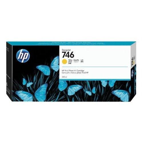 Фото - Картридж струйный для плоттера HP (P2V79A) DesignJet Z6, Z9+, 300 мл, желтый, оригинальный принтер hp designjet z6 44 in