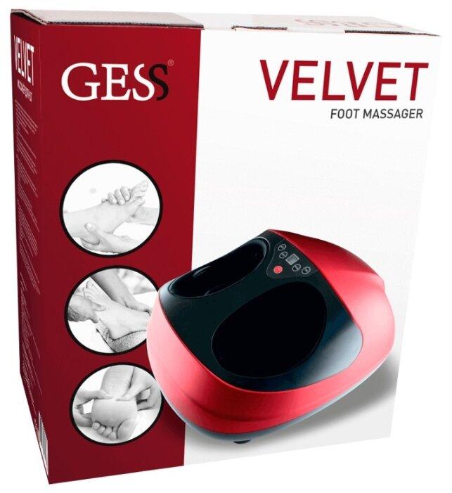Массажер gess velvet обзор нельзя кружевное белье