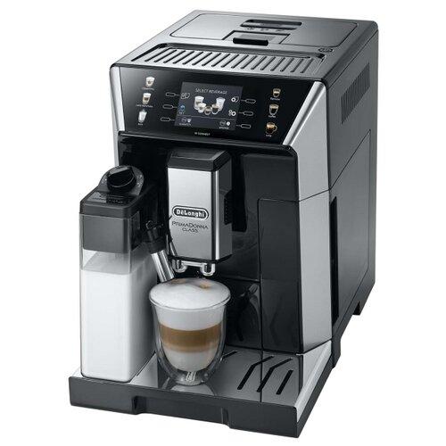 Кофемашина De'Longhi PrimaDonna Class ECAM550.65.SB черный/серебристый