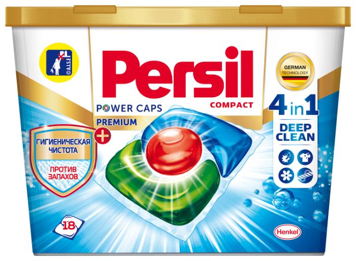 Persil капсулы Power Caps Premium 4 in 1