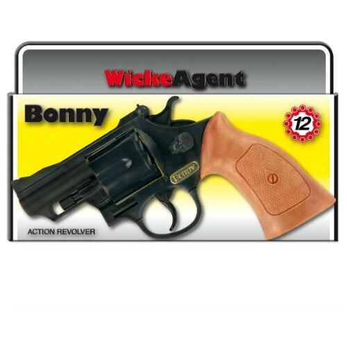 Пистолет Bonny 12-зарядные Gun, Agent 238 мм, упаковка-короб