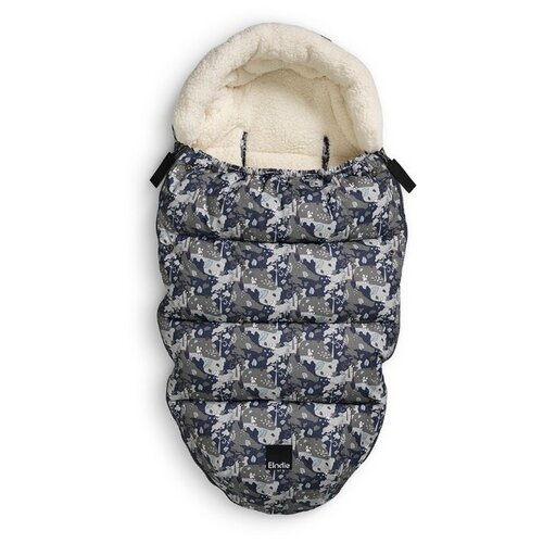 Конверт-мешок Elodie зимний с искусственным мехом 100 см Rebel poodle конверт мешок elodie details зимний пуховый в коляску 100 см tender blue