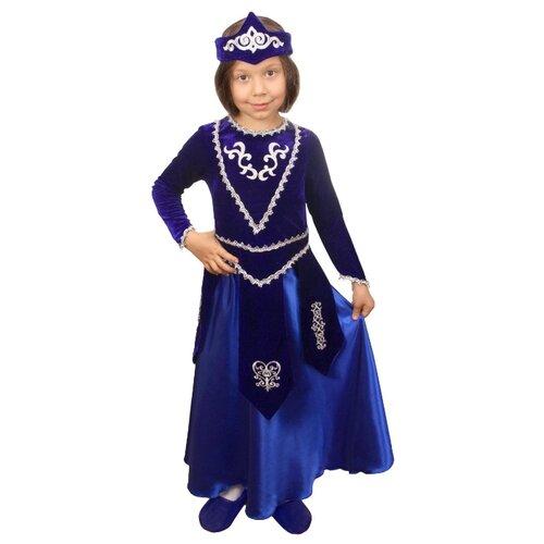 Купить Костюм Elite CLASSIC Армянская девочка, синий, размер 32 (128), Карнавальные костюмы