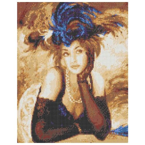 Купить Ожидание Рисунок на ткани 27х32 Каролинка ТКБЛ(э) 3041, Канва