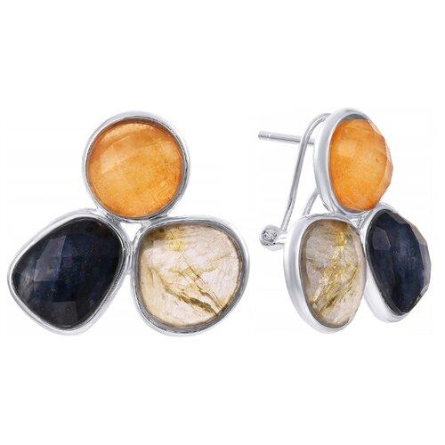 JV Серебряные серьги BE53568-SR-001-WG