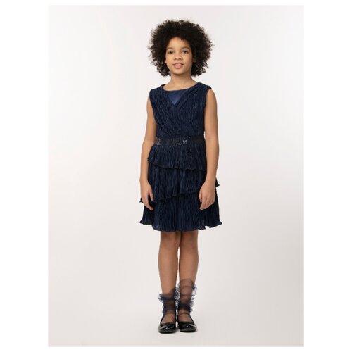 Купить Платье Смена размер 134/64, синий, Платья и сарафаны