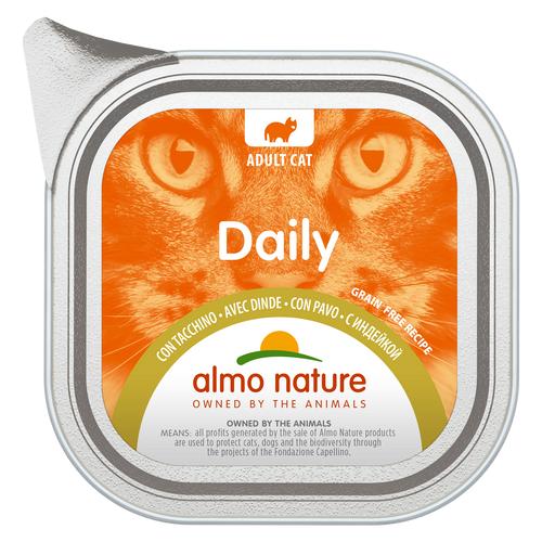 Влажный корм для кошек Almo Nature Daily Menu, с индейкой 100 г (паштет)