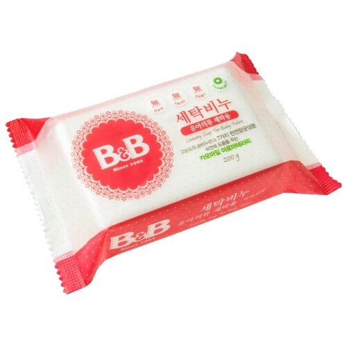 Хозяйственное мыло B&B для стирки детского белья с ромашкой 0.2 кг