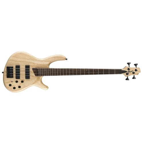 Бас-гитара Cort B4 Plus AS LH Open Pore Natural