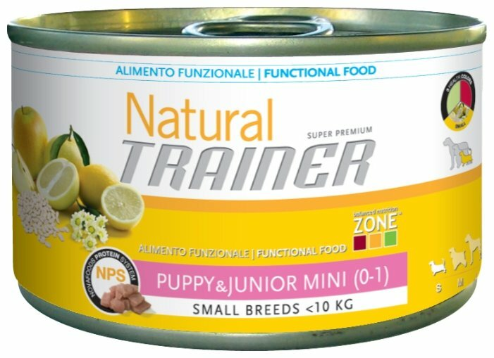 Корм для собак TRAINER Natural Puppy&Junior Mini canned (0.15 кг) 1 шт.