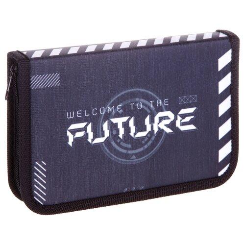 Купить ArtSpace Пенал Future (ПТ1_29063) серый/черный, Пеналы