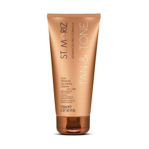 Купить Крем для автозагара St.Moriz Advanced Pro Tan & Tone Skin firming Tanning cream 150 мл