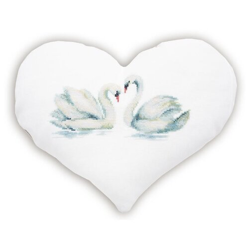 Набор для вышивания, подушка Лебеди, Luca-S LUCA-S PB126