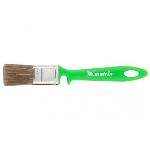 Кисть matrix 83371, 25 мм, зеленый кисть радиаторная эмали 25 10 мм matrix color line