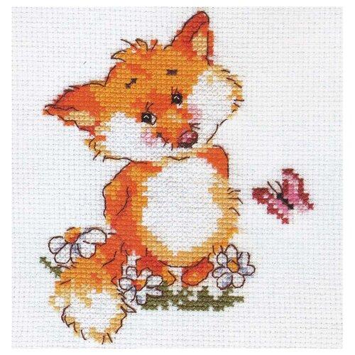 Купить 0-33 Набор для вышивания АЛИСА 'Лисенок' 10*13см, Алиса, Наборы для вышивания