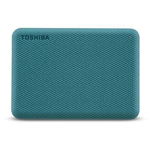 Внешний HDD Toshiba Canvio Advance 4 ТБ зеленая клетка