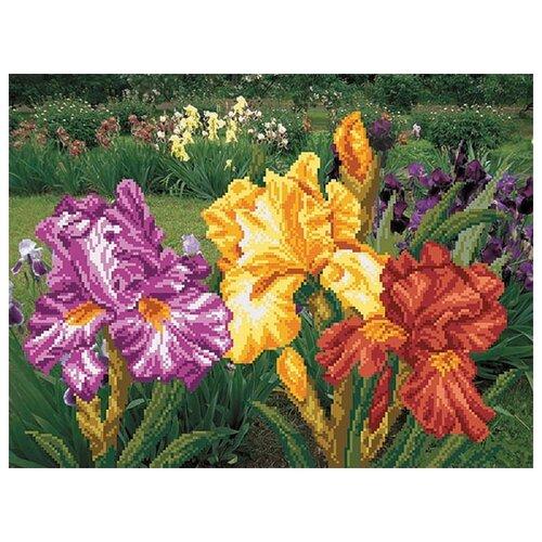 Купить Радужный сад Набор для вышивания бисером 37х49 (29х39) Матренин Посад 0011/Б, Матрёнин Посад, Наборы для вышивания