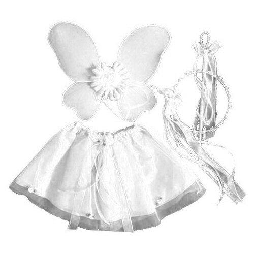 Купить Карнавальный набор SNOWMEN Бабочка (Е93179-1/Е93179-2/Е93179-3), белый, Карнавальные костюмы