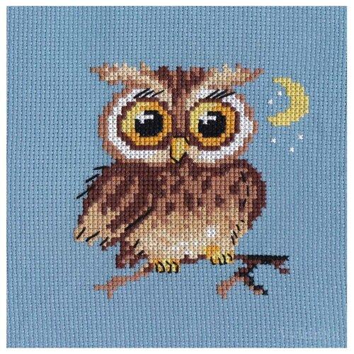 Купить Алиса Набор для вышивания Совенок 10 х 10 см (0-56), Наборы для вышивания