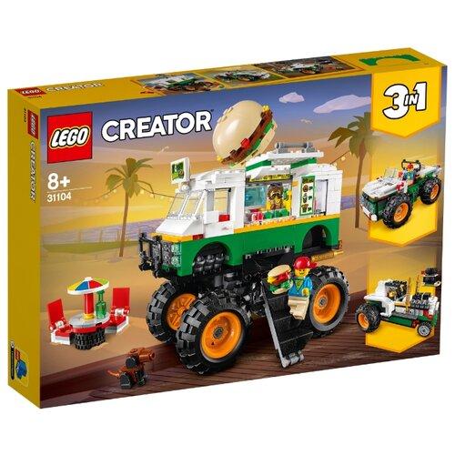 Фото - Конструктор LEGO Creator 31104 Грузовик Монстрбургер конструктор creator lego lego mp002xb0085w