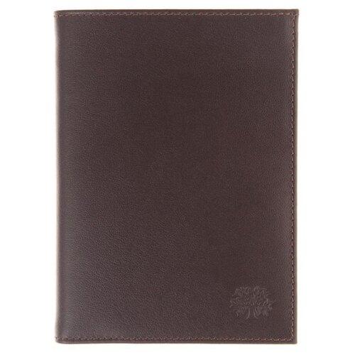 Обложка на автодокументы и портмоне Qoper 0684 brown